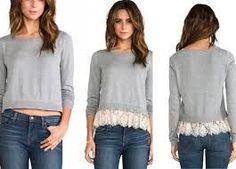 69 New ideas diy ropa reciclada sueter Kleidung Design, Diy Kleidung, Diy Fashion, Womens Fashion, Fashion Tips, Fashion Design, Fashion Ideas, Diy Vetement, Refashioning