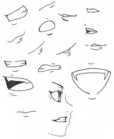 Anime Drawing Tutorial On Mouth Expressions Drawing Tips