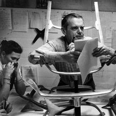Charles and Ray #Eames