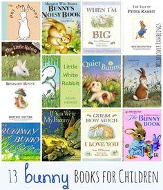 13 Favorite Bunny Books for Children from Wildflower Ramblings