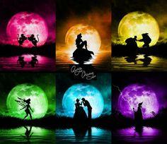 <3 Disney Silhouetten <3                                                                                                                                                                                 More