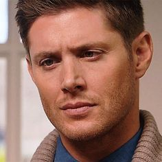 "Dean Winchester 11x08 ""Just My Imagination"" Damn Dean, lookin' good in that sweater!"