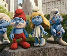 absolutely love the smurfs!!