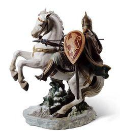 01001950  ALEXANDER NEVSKI   Issue Year: 2010  Sculptor: Alfredo Llorens  Size: 64x64 cm       Limited Edition 500 pieces