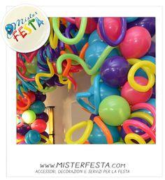 #colori e #palloncini tripudio di fantasia e forma