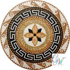 MD060 Marble Mosaic Medallion