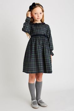 Discover traditional, high-quality clothing from Pepa & Co for girls aged up to Our classic looks feature quintessentially British designs; including handsmocked dresses, knitwear and leather footwear styles. Simple Dress For Girl, Baby Fancy Dress, Dress For Girl Child, Simple Dresses, Baby Dress, Girly Girl Outfits, Little Girl Dresses, Kids Outfits, Girls Dresses