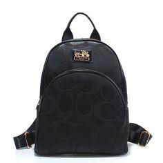 Coach Logo Monogram LZ701 Backpack In Black