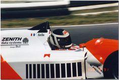 Laurent Aïello - Lola T91/50 Mugen/Brown - DAMS - Brands Hatch Formula 3000 Trophy - 1991 International F3000 Championship, round 7 - © Antsphoto