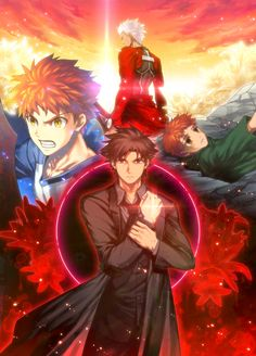 Fate/zero, Fate/stay night, Emiya Kiritsugu, Emiya Shirou, Archer