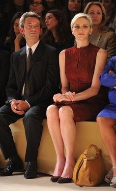 Princess Charlene Of Monaco Today | Her Serene Highness Princess Charlene of Monaco Attends the Akris ...