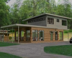 Modern Green Homes modern affordable eco-friendly homecase architects. i love