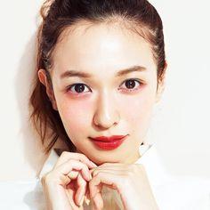 The suites Iroppo face Igarimeiku Beauty Make Up, My Beauty, Beauty Women, Asian Beauty, Makeup Trends, Makeup Inspo, Makeup Inspiration, Monolid Makeup, Lip Makeup
