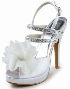 If you look for bridal shoes online, visit this site! You'll easily get cheap wedding shoes for sale like purple & silver wedding shoes. Bridal Party Shoes, White Bridal Shoes, Silver Wedding Shoes, Wedding Shoes Heels, Bridal Shoes Online, Evening Shoes, Stiletto Heels, High Heels, Satin