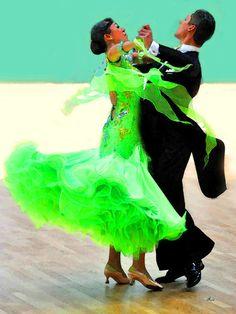 'The attractive side of ballroom dancing - 10' von Dirk h. Wendt bei artflakes.com als Poster oder Kunstdruck $18.03