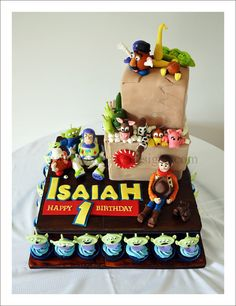 Toy Story Cake. This is so cool!