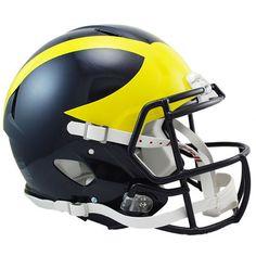 Riddell Michigan Wolverines Revolution Speed Full-Size Authentic Football Helmet
