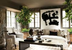 {Image by Erica George Dines} This week, I came across this handsome room by Bill Ingram and...