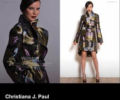 Christiana J. Paul Fall 2014! Winston Coat! Ignoring rules and exploring the quest for the extraordinary!