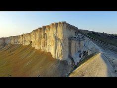 Белая скала. Белогорск, Крым. Аэросъемка; White rock. Belogorsk, Crimea. Aerial video. - YouTube