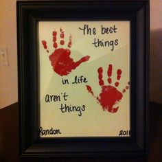 Made this for Landon's great-grandparents for Christmas!