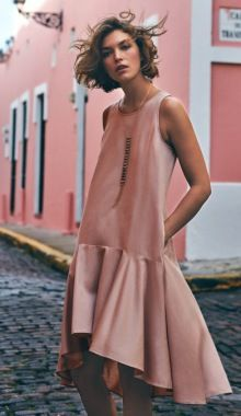 Arizona Muse Models Anthropologies Dreamy Spring Dresses