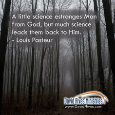 Science leads back to God