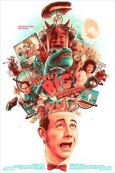 Pee-wee's Big Adventure (1985) [683 x 1024]