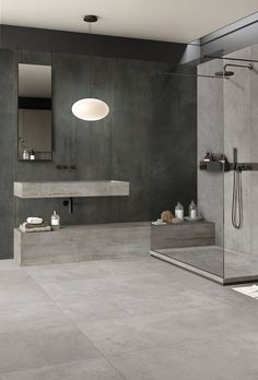Rebel by Flaviker. The appeal of rough metal Rebel, Love Home, Modern Kitchen Design, Wall Tiles, Architecture, Stoneware, Porcelain, Bathtub, Indoor
