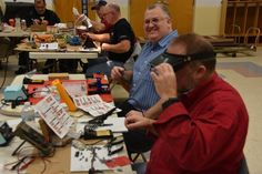 """Our Latest """"Tech Night"""" - A DSO138 Oscilloscope Kit Build http://n1fd.org/2017/02/21/our-latest-tech-night-a-dso138-oscilloscope-kit-build/ Our latest Tech Night became a Tech Day this past weekend. We got together on Saturday afternoon to build another kit – the DSO138 Oscilloscope. We had a great turnout with over 15 kit builders and helpers present. Finished DSO138 Scope Kit in case Brian, AB1ZO choose this really cool kit..."""