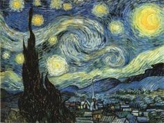Starry Night - Another favorite from Van Gogh