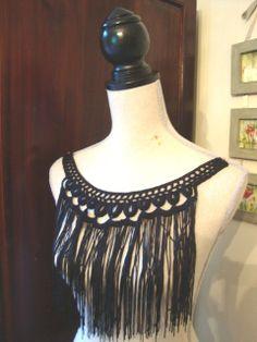@: Neckline Embellishment Necklace Fringe... Boho inspiration