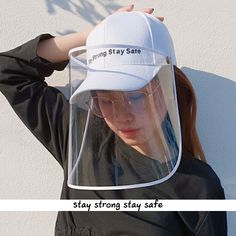 Fashion Reusable Adults Bandanas Face Shield,Full Protective Face Wear Visor,Removable Washable Hooded Hat Cycling Clothing Windproof Dustproof Facial Cover for Men or Women Beige