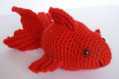 Amigurumi Fish, Crochet Fish, Amigurumi Goldfish, Amigurumi Softie, crochet…