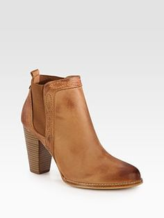 Joie - Lennon Leather Ankle Boots