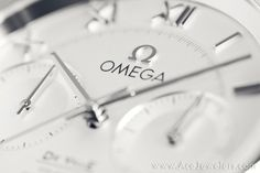 Dial detail of the Omega De Ville 9300 Chronograph