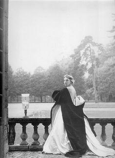 Margaret Philips wearing Hubert de Givenchy 1952 by dovima_is_devine_II, via Flickr
