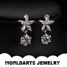 Hot Selling New Model Aolly Zircon Fashion Jewelry Drop Earrings, View fashion jewelry, Worldarts jewelry Product Details from Dongguan Worldarts Jewellery Manufactory on Alibaba.com