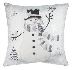 Snowman Pillow - Ava Grace Fashions