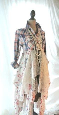 fall jacket bohemian duster boho fall dress by TrueRebelClothing - Fall Shirts - Ideas of Fall Shirts - fall jacket bohemian duster boho fall dress by TrueRebelClothing Diy Clothing, Sewing Clothes, Clothing Patterns, Abaya Mode, Mode Hippie, Diy Vetement, Altered Couture, Fall Jackets, Refashioned Clothes