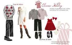 Classic Holiday Outfits.  Hot chocolate, apple cider, fresh baked pie, mashed potatoes.