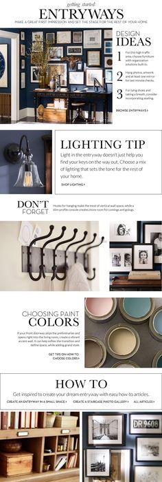 Entryway Decorating Ideas & Entryway Design Ideas | Pottery Barn