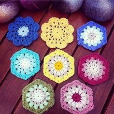 lyndapc crochet hexi