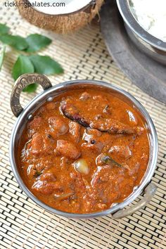 Chettinad Kalyana Vathal Kulambu recipe with step by step pictures. An authentic arachuvitta vathal kulambu that is served at their wedding luncheons