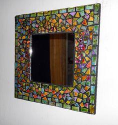 Colourful Mosaic Mirror