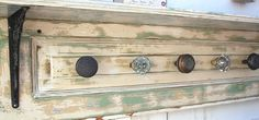 door knob coat rack i really want to make. only have 3 knobs so far though