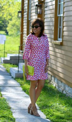 Print dresses for spring and summer