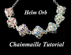 Chainmaille Tutorial for Helm Orb PDF by WolfstoneJewelry on Etsy, $7.00