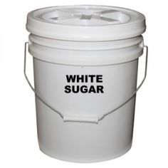 Food storage labels for buckets