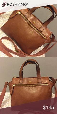 Fossil leather purse Beautiful brown purse!!! authentic leather purse in great condition!!! Fossil Bags